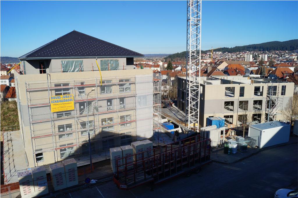 Montage du R+2 bâtiment A